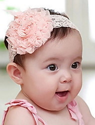 Children Flower Fabric Headbands