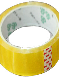 Custom Tape Sealing Tape Transparent Tape Marking Tape Yellow Tape Super Tack Adhesive 40Y