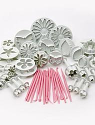 47pcs Cuisson Grosses soldes / Cake Decorating / Bricolage Gâteau Plastique Ustensiles de Décoration
