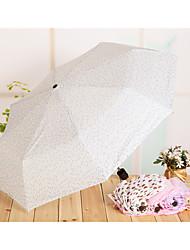 8K Couple Short Handle Umbrella Seventy Percent Off Umbrella Portable Mini Folding Umbrella