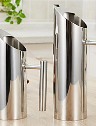 bouteilles d'eau froide fournitures d'hôtel en acier inoxydable café en pots (1.0L)
