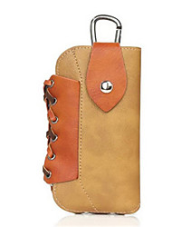 Men Cowhide Casual / Outdoor Mobile Phone Bag / Waist Bag