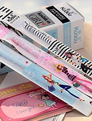 Fashion Girl Gel Pen For The Core Version Of The Whole Korean Ultra-Fine Needle Pen Refill Black