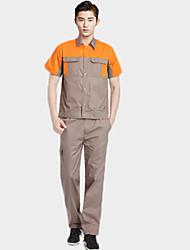 D318 à manches courtes combinaisons costume service après-vente électricien été (taille: 175)