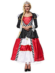 Cosplay Costumes Party Costume Princess Fairytale Movie/TV Theme Costumes Festival/Holiday Halloween Costumes Red White Black Color Block