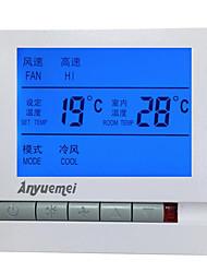 AYM-605f instrumento de controle de temperatura e umidade (plug-in ac-220v; faixa de temperatura: 0-60 ℃; Faixa de umidade 5-90%)