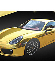 The Machine Body Paste Paste Paste Paste The Whole Car Tail Roof Car Decorative Plating Gold Foil