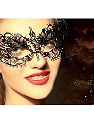 Chrome Wedding Decorations-1Piece/Set Mask Birthday Vintage Theme Black