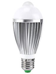 7W B22 / E26/E27 Ampoules LED Intelligentes A50 1 LED Haute Puissance 400-550 lm RVB Capteur AC 85-265 V 1 pièce