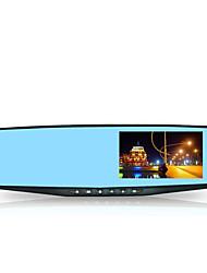 genuína traseira do veículo gravador de espelho de vista de condução, hd 1080p lente única gravador de condução