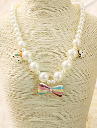 Girls Necklace,All Seasons Others White