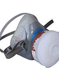 yue feng terra head-mounted7100 silicone completo antivírus meia máscara