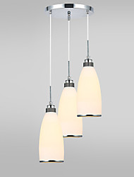 E26/E27 Pendant Light , Modern/Contemporary for Designers MetalLiving Room / Bedroom / Dining Room/Study Room/Office /