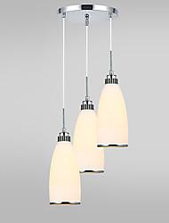 Lampe suspendue ,  Contemporain Autres Fonctionnalité for Designers MétalSalle de séjour Chambre à coucher Salle à manger Bureau/Bureau