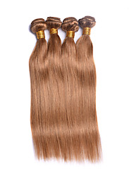 7A Brazilian Virgin Hair Straight 4 Bundles Human Hair Extension Wholesale Remy Brazilian Natural Straight Hair