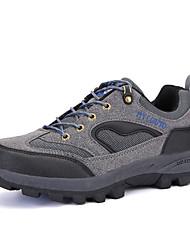 Зеленый / Серый / Светло-коричневый-Мужской-Для прогулок / Для занятий спортом-Полиуретан-На плоской подошве-Удобная обувь / С круглым