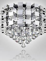Stainless Steel light Dining-room lamp Sitting Room Bedroom light Crystal ligh