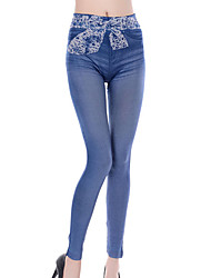 Women Denim Legging,Bamboo Carbon Fiber
