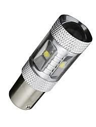 1pcs LED 30W BA15s blanc 1156 1141 7506 rv sauvegarde campeur remorque légère inverser