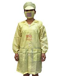 Anti-Statik-Mantel Kurzarm Kurzarm-Sommerarbeitskleidung statische Kleidung Wort (verkauft blau)