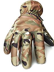 лыжные перчатки Полный палец / Зимние Все Спортивные перчаткиСохраняет тепло / Анти-скольжение / Водонепроницаемый / Ветронепроницаемый /