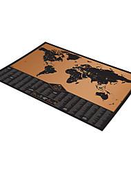 Пазлы 3D пазлы Строительные блоки DIY игрушки Бумага черный увядает Игра Игрушка