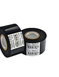 scf-900 Etikettenband schwarz 35 * 100