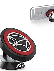 Autotelefonhalter Auto 360-Grad-Drehung Edelstahl mit einem Magneten Mini-Phone Halter
