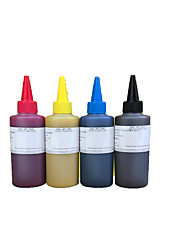 Sublimation Ink 100ML ,A Pack Of 4Boxes, Each Box Different Colors,Black, Red, Yellow, Blue, Light Grey, Pale Red