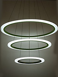 30W Lampe suspendue ,  Traditionnel/Classique Plaqué Fonctionnalité for LED MétalSalle de séjour / Chambre à coucher / Salle à manger /