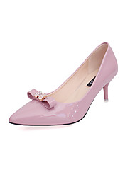 Women's Shoes Patent Leather Spring / Summer / Fall / Winter Pointed Toe Heels Wedding / Office & Career / Dress