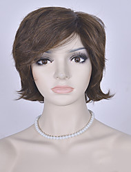 Fashion Blonde Short Wig European and American Curly Wigs Women Synthetic Wigs