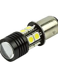 2x 1157 BAY15D aplicação 7W branco puro de alta potência para o freio cauda luz de stop