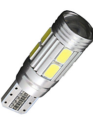 4x Canbus Wedge T10 White 192 168 194 W5W 10 5630 SMD LED Light Lamp Bulb Error Free 12V