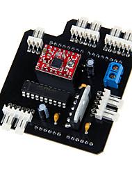 geeetech 3d escudo B9 impressora motherboard DLP fotocurável placa do módulo sla