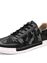 Men's Popular Sneakers Casual/Travel/Student Microfiber Breathable Board Shoes