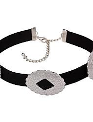 European Style Gold Alloy Choker Necklaces