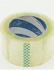 fita de embalagem transparente (largura de 6 cm, espessura de 1,6 centímetros)