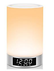 horloge intelligente lampe colorée atmosphère haut-parleur, la lumière mini haut-parleur de voiture