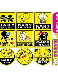 Baby In Car Personal Car Stickers Car Baby Car Safety Car Stickers Can Be Customized