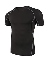Sports Bike/Cycling Tops Unisex Short Sleeve Quick Dry / Comfortable / Sunscreen 100% Polyester Classic