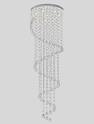 SL® Chandelier Luxury Modern Crystal 8 Lights