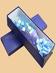 Свадебные цветы Каскадом Розы Декорации Партия / Вечерняя Полиэфир 32 см