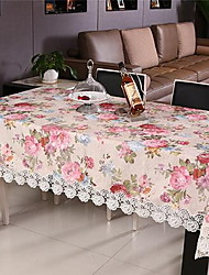 Polyester Rectangulaire Nappes de table