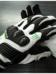 MONSTER Motocross Leather Carbon Fiber Racing Gloves Riding Gloves Gloves