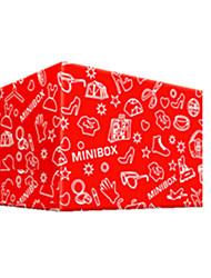 couleur rouge autres emballages en matériau&expédition 10 # boîtes d'emballage d'un paquet de dix-huit