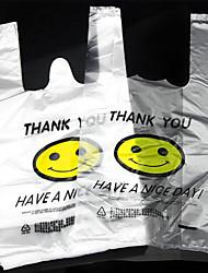 улыбка жилет жилет сумки пластиковые мешки сумок упаковки мешка 50
