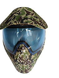 masque de camouflage masque de paintball paintball casque de formation airsoft