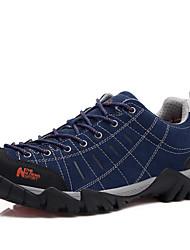 Синий / Серый / Бронзовый / Хаки-Мужской-Для занятий спортом-Замша-На плоской подошве-На плокой подошве-Кеды