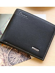 Men leatherette Casual Wallet